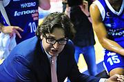 DESCRIZIONE : Sassari Lega A 2012-13 Dinamo Sassari Lenovo Cant&ugrave; Quarti di finale Play Off gara 1<br /> GIOCATORE : Andrea Trinchieri<br /> CATEGORIA : Coach<br /> SQUADRA : Lenovo Cant&ugrave;<br /> EVENTO : Campionato Lega A 2012-2013 Quarti di finale Play Off gara 1<br /> GARA : Dinamo Sassari Lenovo Cant&ugrave; Quarti di finale Play Off gara 1<br /> DATA : 09/05/2013<br /> SPORT : Pallacanestro <br /> AUTORE : Agenzia Ciamillo-Castoria/M.Turrini<br /> Galleria : Lega Basket A 2012-2013  <br /> Fotonotizia : Sassari Lega A 2012-13 Dinamo Sassari Lenovo Cant&ugrave; Play Off Gara 1<br /> Predefinita :