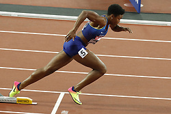 USA's Phyllis Francis in the semi-finals of the 400 meters women during the IAAF World Athletics 2017 Championships In Olympic Stadium, Queen Elisabeth Park, London, UK, on August 7th, 2017 Photo by Henri Szwarc/ABACAPRESS.COM