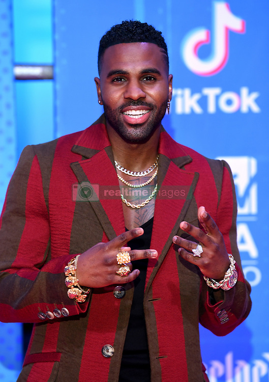Jason Derulo attending the MTV Europe Music Awards 2018 held at the Bilbao Exhibition Centre, Spain