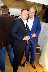 Left to right, GARY FARROW and DYLAN JONES at the Spectator Summer Party held at 22 Old Queen Street, London SW1 on 3rd July 2008.<br /><br />NON EXCLUSIVE - WORLD RIGHTS