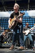 Delta Rae performs at Bunbury Music Festival at Yeatman's Cove in Cincinnati, Ohio on July 12, 2013.