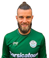 Quentin Westberg during photocall of Tours FC for new season of Ligue 2 on October 9th 2016<br /> Photo : Fct / Icon Sport