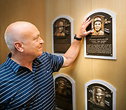 Cal Ripken Jr. at the National Baseball Hall of Fame and Museum photograph, 2017 July 29