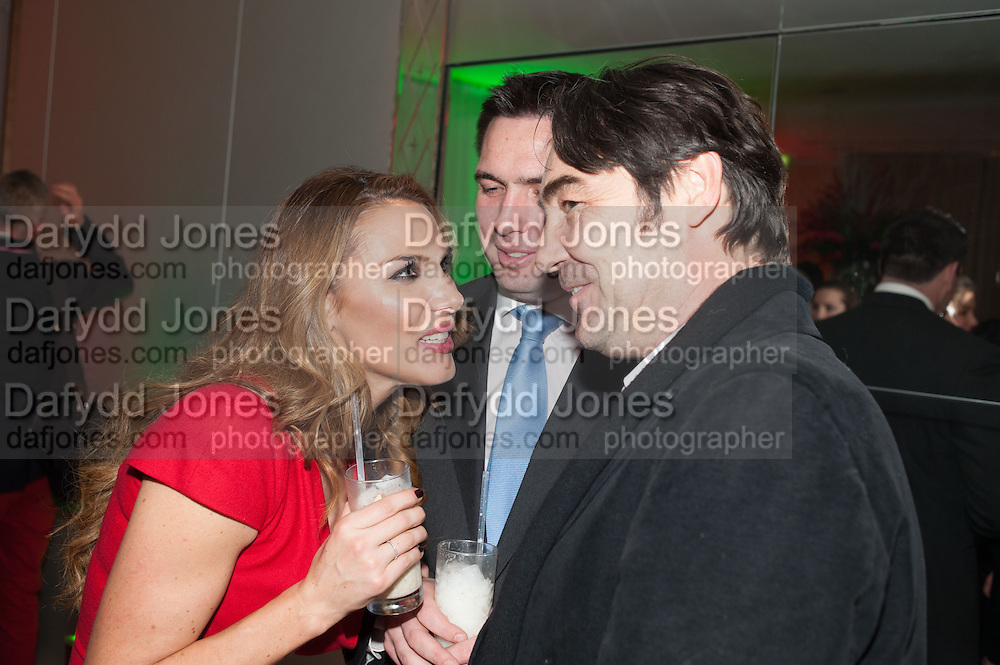 TONYA MELI; GERRY CASEY; NATHANIEL PARKER, English National Ballet's celebrates their Christmas season at the London Coliseum,  St Martins Lane hotel. London. 13 December 2012.