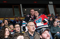 KELOWNA, CANADA - FEBRUARY 2: A time out at the Kelowna Rockets  on February 2, 2016 at Prospera Place in Kelowna, British Columbia, Canada.  (Photo by Marissa Baecker/Shoot the Breeze)  *** Local Caption *** POP;