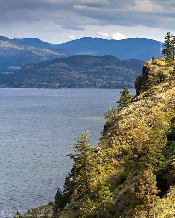 Skaha Lake near Penticton, British Columbia, Canada