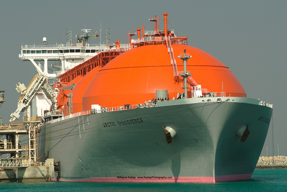 Liquified Natural Gas (LNG) Port, Ras Laffan Industrial City, Qatar