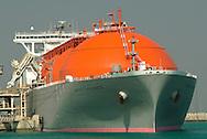 Liquified Natural Gas (LNG) Port, Ras Laffan Industrial City, Qatar