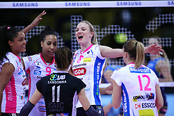 04-03-2017 ITA: Semifinal Coppa Italia Imoco Volley Conegliano - Igor Gorgonzola Novara, Firenze<br /> Judith Pietersen #8<br /> <br /> ***NETHERLANDS ONLY***