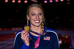 04-03-2018 GBR: World Indoor Championships Athletics day 4, Birmingham<br /> Sandi Morris USA, gold Pole Vault