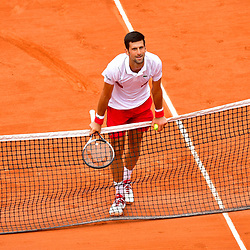 Novak Djokovic of Serbia during Day 6 of the French Open 2018 on June 1, 2018 in Paris, France. (Photo by Dave Winter/Icon Sport)