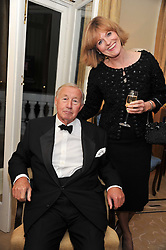 SIR TERENCE & LADY CONRAN at a reception and dinner in association with Martell to launch Raymond Blanc's personal crusade to 'Celebrate French Craftsmanship in the UK' held at the Mandarin Oriental Hotel followed by dinner in the windows of Harrods, Knightsbridge, London on 18th October 2011.
