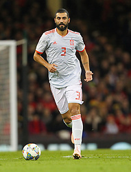 October 11, 2018 - Cardiff City, Walles, United Kingdom - Cardiff, Wales October 11, ..Raul Albiol of Spain during Exhibition Match between Wales and Spain at Principality stadium, Cardiff City, on 11 Oct  2018. (Credit Image: © Action Foto Sport/NurPhoto via ZUMA Press)