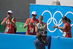 Ahlmann Christian, GER, Taloubet Z, Melchior Judy Ann, BEL<br /> Olympic Games Rio 2016<br /> © Hippo Foto - Dirk Caremans<br /> 19/08/16