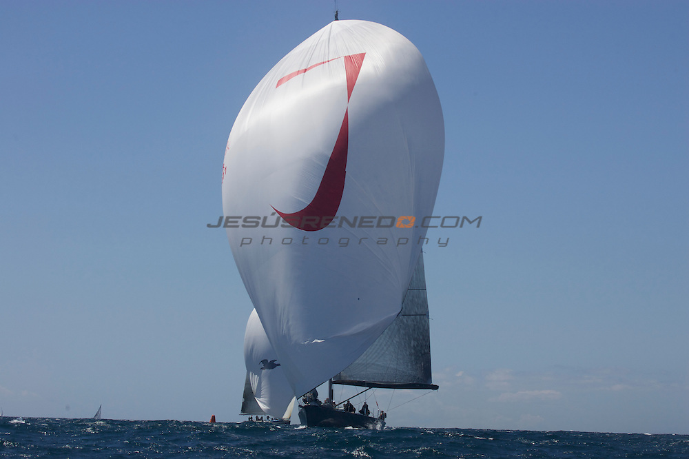 plamacela 2009 , jueves 16 de abril, primer dia de regatas