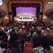 060311 Wilmington DE: Family and friends fill the stands for Cab Calloway commencement exercise Friday, June 3, 2011 at The Grand Opera House In Wilmington Delaware...Special to The News Journal/SAQUAN STIMPSON