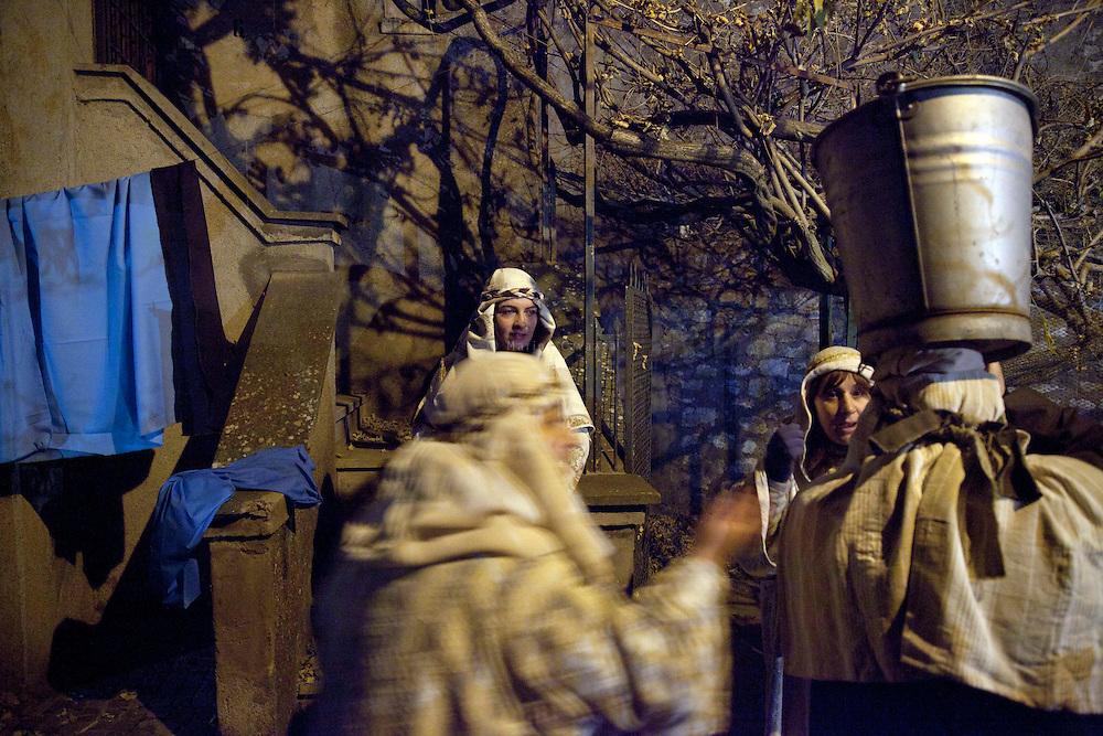 Trivigliano (Fiuggi-Italia), Presepe vivente Natale 2015