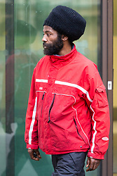 Alleged Grenfell fraudster Alvin Thompson, 50, who claimed to be living in the stairwell of Grenfell Tower, and subsequently received financial and accommodation benefits to the tune of £85,000, leaves Westminster Magistrates Court in London. London, January 10 2019.