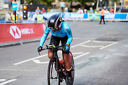 Daniela Soler Espinosa (COL) at UCI Road World Championships 2019 Junior Women's TT a 13.7 km individual time trial in Harrogate, United Kingdom on September 23, 2019. Photo by Sean Robinson/velofocus.com