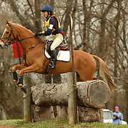 Cayla Kitayama (USA) and Felix at the Morven Park Spring Horse Trials held in Leesburg, Virginia