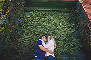 Chrissy & Brad's Fall Distillery District Engagement