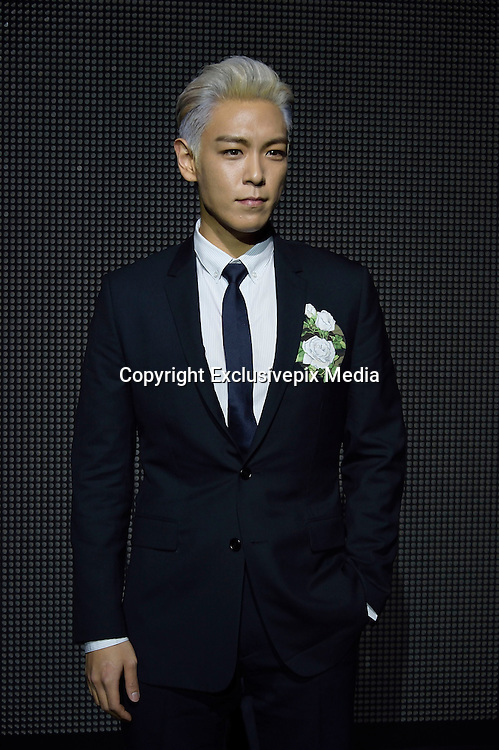 T.O.P. CHOI SEUNG HYUN ( singer of the group BIGBANG and South Korean actor) - Show Dior Menswear Fall / Winter 2016-2017 Paris Fashion Week January 23, 2016<br /> &copy;Exclusivepix Media