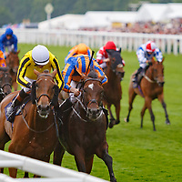 Big Orange (J. Doyle) (white cap) wins The Gold Cup Gr. 1, Royal Ascot 22/06/2017, photo: Zuzanna Lupa / Racingfotos.com