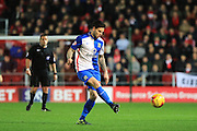 Blackburn Rovers midfielder Danny Guthrie during the Sky Bet Championship match between Bristol City and Blackburn Rovers at Ashton Gate, Bristol, England on 5 December 2015. Photo by Jemma Phillips.