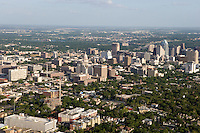 Austin, Texas, skyline including capitol district.