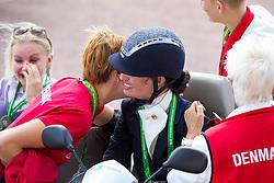 Risum Annika Lykke, (DEN) - Freestyle Test Grade III Para Dressage - Alltech FEI World Equestrian Games™ 2014 - Normandy, France.<br /> © Hippo Foto Team - Leanjo de Koster<br /> 25/06/14