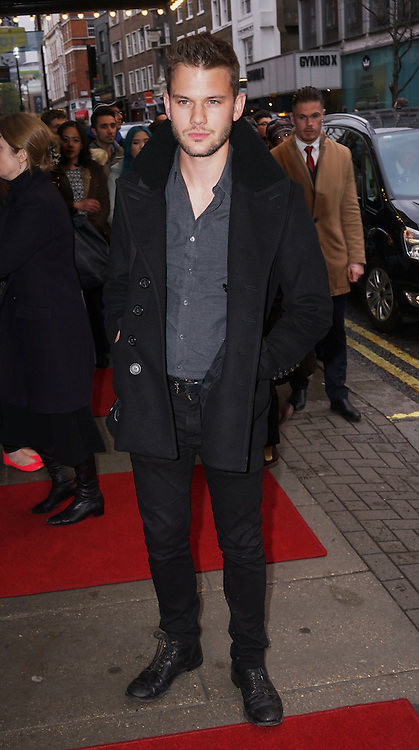 London,England, UK : 25th April 2016 : Richard Madden, attend the Doctor Faustus – Gala Opening Night at the Duke of York's Theatre, St Martin's Lane , London. Photo by See Li
