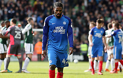 Anthony Grant of Peterborough United cuts a dejected figure at full-time - Mandatory by-line: Joe Dent/JMP - 07/04/2018 - FOOTBALL - Home Park - Plymouth, England - Plymouth Argyle v Peterborough United - Sky Bet League One