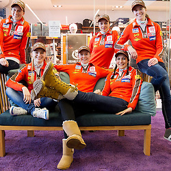 20130213: SLO, Ski jumping - Press conference of Slovenian Women National team before Ljubno 2013