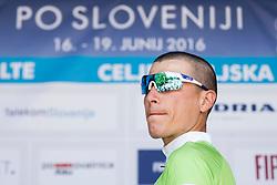 Brajkovic Janez of Slovenia during Stage 1 of 23rd Tour of Slovenia 2016 / Tour de Slovenie from Ljubljana to Koper/Capodistria (177,8 km) cycling race on June 16, 2016 in Slovenia. Photo by Urban Urbanc / Sportida