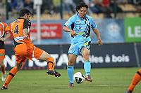 FOOTBALL - FRENCH CHAMPIONSHIP 2010/2011 - L2 - FC TOURS v STADE LAVALLOIS - 27/08/2010 - PHOTO ERIC BRETAGNON / DPPI - JINHYUNG SONG (TOURS)