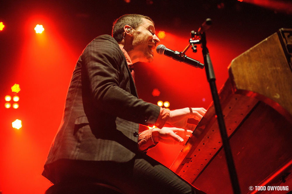 Mutemath performing at the Pageant in St. Louis, Missouri on February 28, 2012.