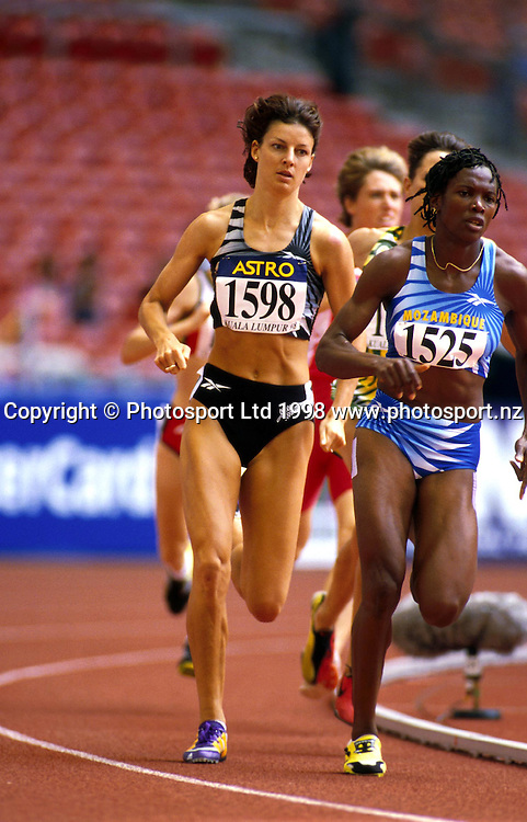 Toni Hodgkinson, NZ Athletics. Commonwealth Games 1998. PHOTOSPORT