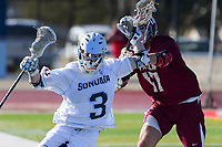 Sonoma State Seawolves lacrosse, Saturday, February 16, 2019.<br /> Photo Brian Baer