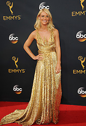 Claire Danes at the 68th Annual Primetime Emmy Awards held at the Microsoft Theater in Los Angeles, USA on September 18, 2016.