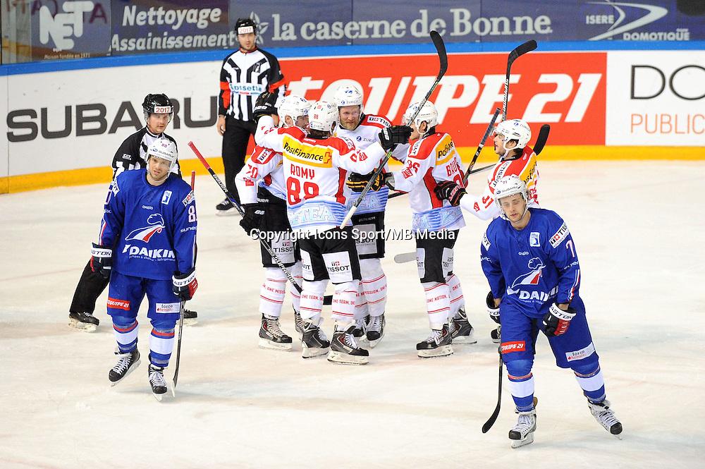 Joie Suisse - 24.04.2015 - France / Suisse - Match Amical -Grenoble<br />