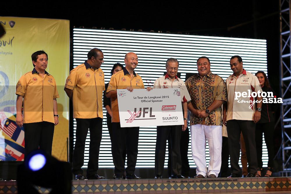 Le Tour de Langkawi 2015/ Team Presentation/ Sponsors / UFL