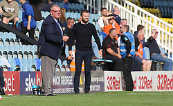 Peterborough United Manager Steve Evans on the touchline alongside Luton Town manager Nathan Jones - Mandatory by-line: Joe Dent/JMP - 18/08/2018 - FOOTBALL - ABAX Stadium - Peterborough, England - Peterborough United v Luton Town - Sky Bet League One