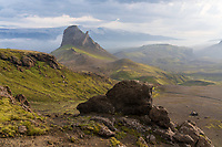 Mount Einhyrningur, Fjallbak, Iceland.
