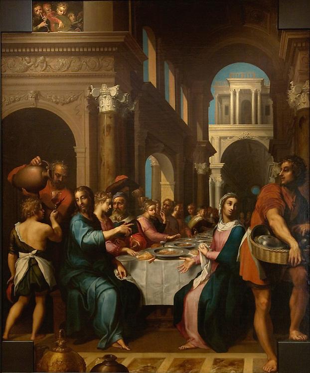 Les noces de Cana de Quentin VARIN vers 1618-1620