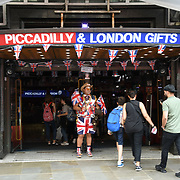 Piccadilly London Gift at Piccadilly circus - Westend, London, UK July 19 2018.