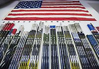 SPISSKA NOVA VES, SLOVAKIA - APRIL 15: USA vs Russia preliminary round 2017 IIHF Ice Hockey U18 World Championship. (Photo by Steve Kingsman/HHOF-IIHF Images)