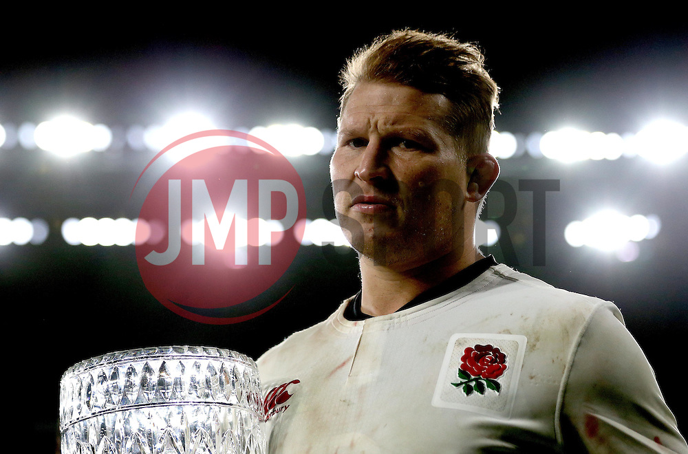 Dylan Hartley of England - Mandatory by-line: Robbie Stephenson/JMP - 03/12/2016 - RUGBY - Twickenham - London, England - England v Australia - Old Mutual Wealth Series