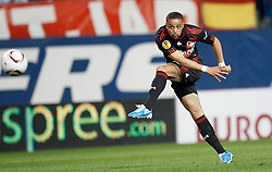 30.09.2010, Vicente Calderon Stadion, Madrid, UEFA EL, Atletico de Madrid vs Bayer 04 Leverkusen, im Bild Bayer Leverkusen's  Sidney Sam during UEFA Europe League. EXPA Pictures © 2010, PhotoCredit: EXPA/ Alterphotos/ Cesar Cebolla +++++ ATTENTION - OUT OF SPAIN / ESP +++++
