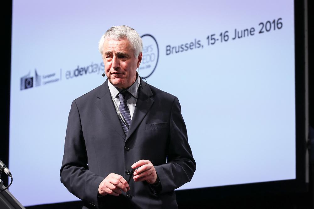 20160615 - Brussels , Belgium - 2016 June 15th - European Development Days - Climate and development - Getting to zero poverty and zero emissions - Simon Maxwell , Chair , European Think Tank Group (ETTG) © European Union