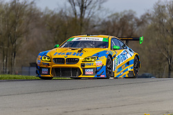 May 4, 2018 - Lexington, Ohio, United States of America - The Turner Motorsport BMW M6 GT3 races through the turns at the Acura Sports Car Challenge at Mid Ohio Sports Car Course in Lexington, Ohio. (Credit Image: © Walter G Arce Sr Asp Inc/ASP via ZUMA Wire)